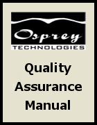 Osprey Technologies Quality Assurance Manual