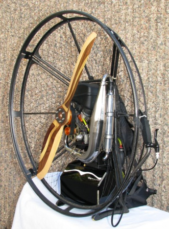 All Carbon Fiber Powered Paraglider